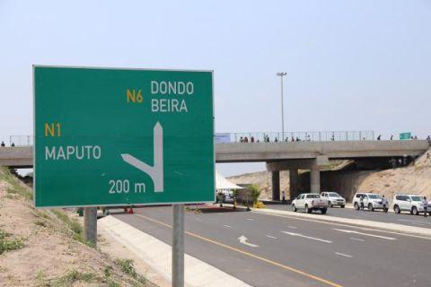 视界   中企承建莫桑比克N6公路改扩建项目竣工通车