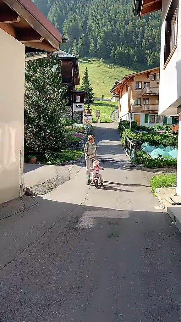 瑞士人的生活场景