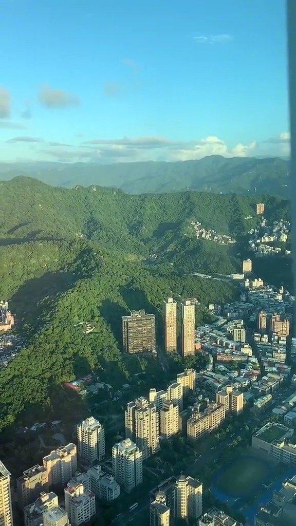 台北101大楼观景餐厅