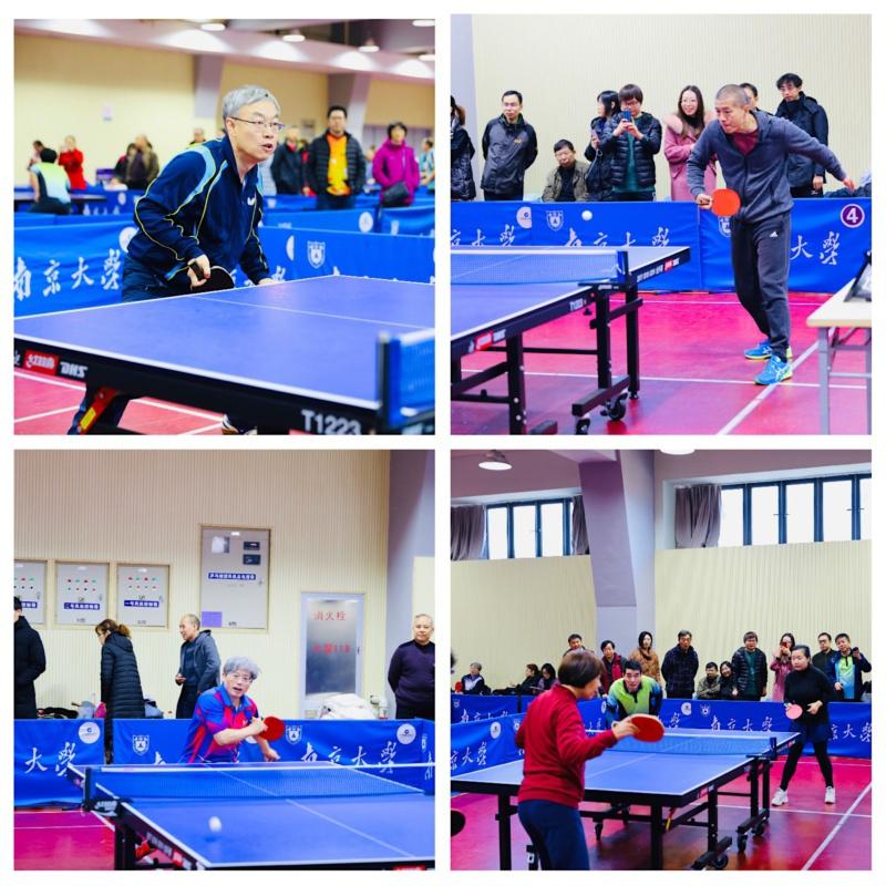 我校举行2019年教职工乒乓球比赛