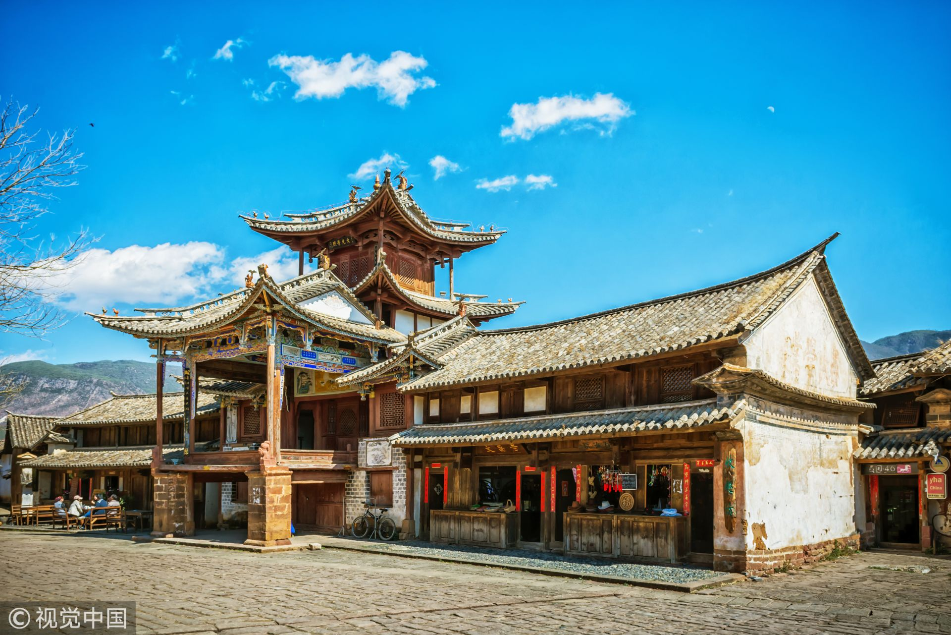 沙溪古戏台,图片来源:视觉中国。