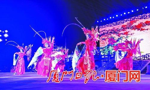 数千游客欢聚举杯开怀畅饮 同安文化旅游欢乐周暨第十一届青岛啤酒节昨晚开幕