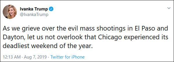 枪击案地点伤亡信息全搞错 伊万卡遭市长怒怼|推特