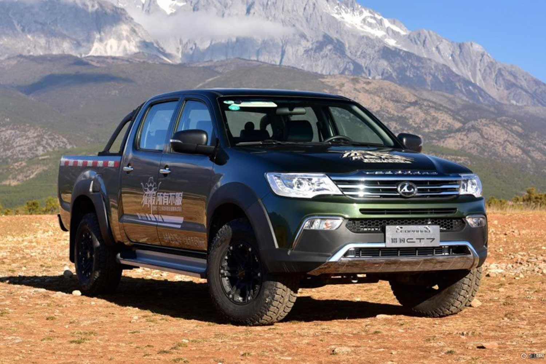2018猎豹CT7标双板车型上市 售8.98万起