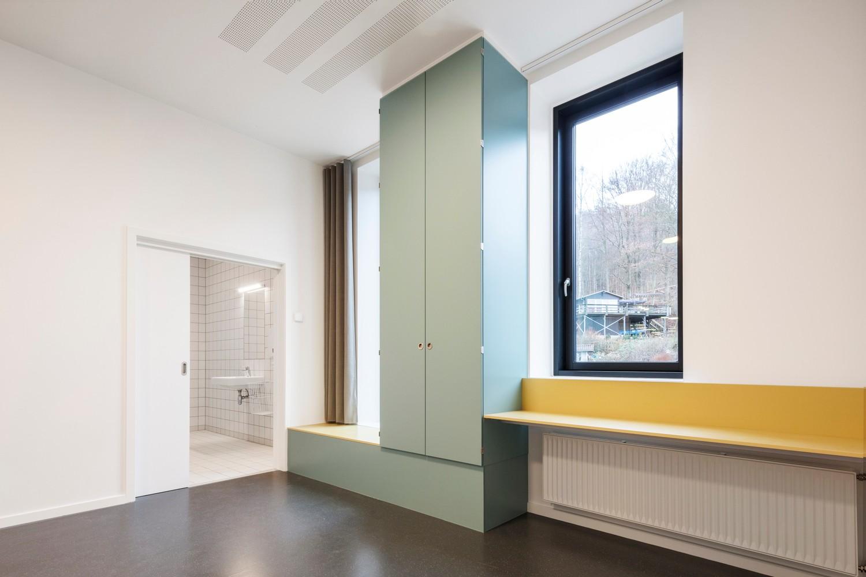 建筑师的人文主义v医院:瓦埃勒精神病医院建筑市场开封设计费图片