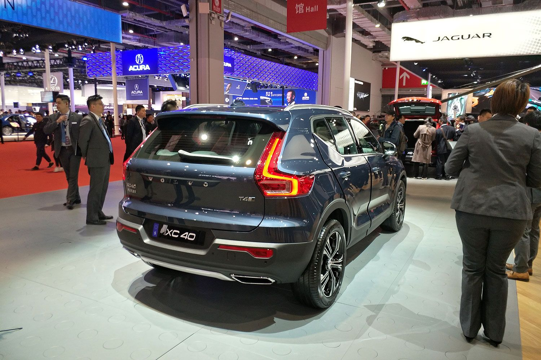 2019上海车展:国产沃尔沃XC40登台亮相