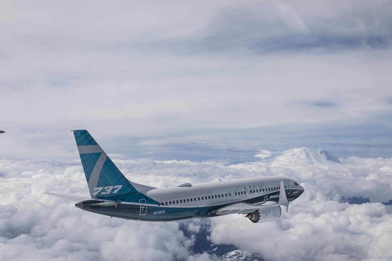 波音737MAX 7测试机再次腾空进行测试飞行