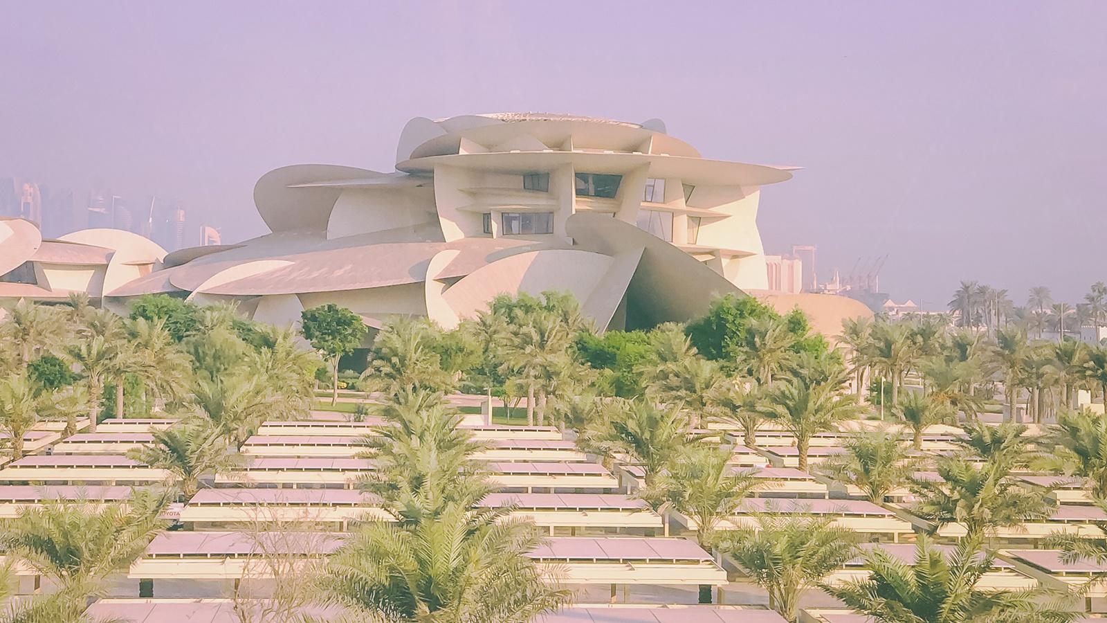 我在卡塔尔逛博物馆