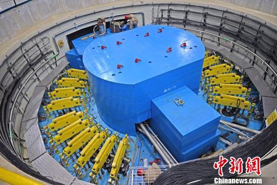 图为中国散裂中子源装置。 张庆活 摄