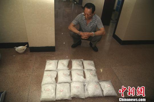 嫌疑人被抓获 苍南警方提供 摄
