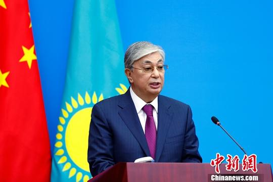哈萨克斯坦总统托卡耶夫社科院演讲:哈中关系成国家关系典范