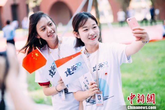 """华南理工大学广州国际校区的""""最美开学照"""""""