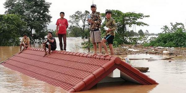 直击 老挝一水电站大坝垮塌,数百人失踪,死亡人数还在上升