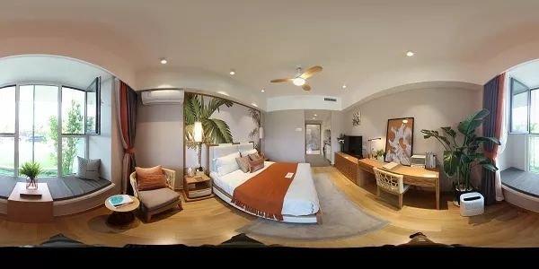 威海万达广场公寓36平全景看房上线!