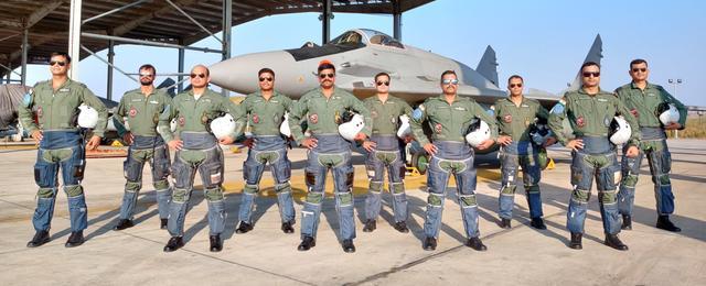 印度空军4架米格29战机抵达阿曼参加联合演习