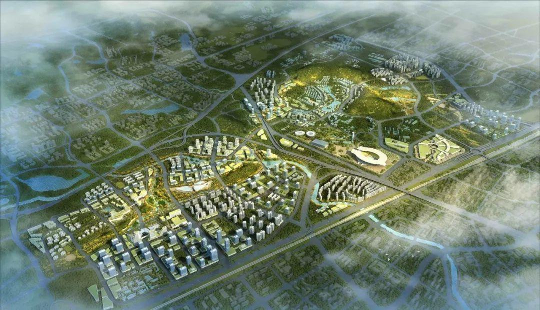 (天河智谷片区规划图)   在业内人士看来,广佛同城十年,广钢新城的发展多少也受邻居佛山制肘.