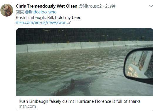"""美""""佛罗伦斯""""飓风逼近 网友号召大家朝它开枪"""