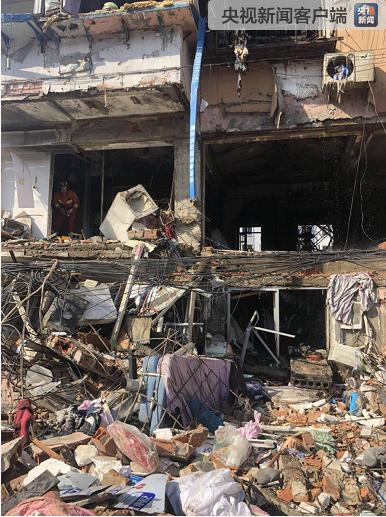 沈阳一居民楼发生燃气爆炸 3名被困者无生命体征