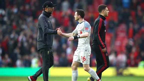 罗伯逊:对阵埃弗顿很艰难,利物浦需充满信心