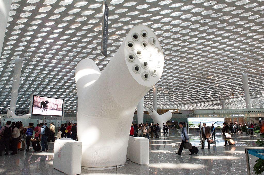 深圳机场去年净利润下滑 疫情影响营业收入减少逾八千万图片