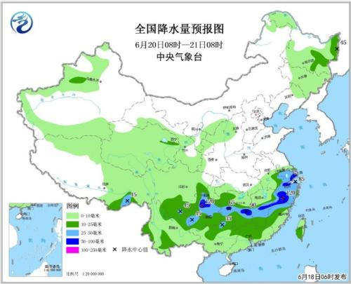 西南地区东部将有大到暴雨 华北等地仍有雷雨天气