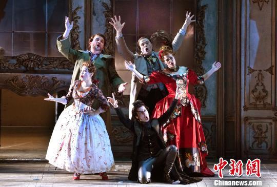 """意大利""""歌剧航母""""整装来华 首次在沪实现""""一台两剧"""""""