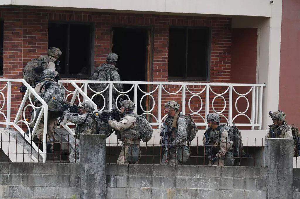 ▲驻韩美军参与集训。(欧洲新闻图片社)