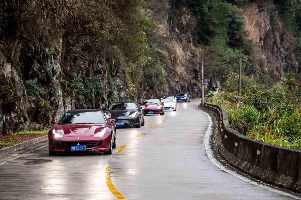 法拉利GT车系悦游徽州山水
