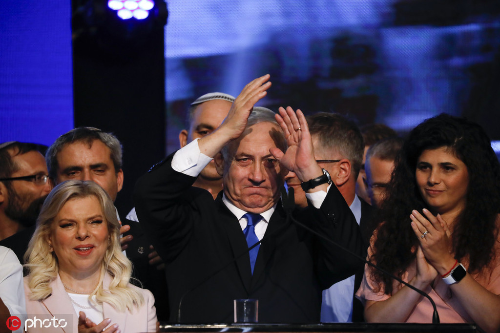 以色列反对党:可组联合政府,但内塔尼亚胡不能当总理