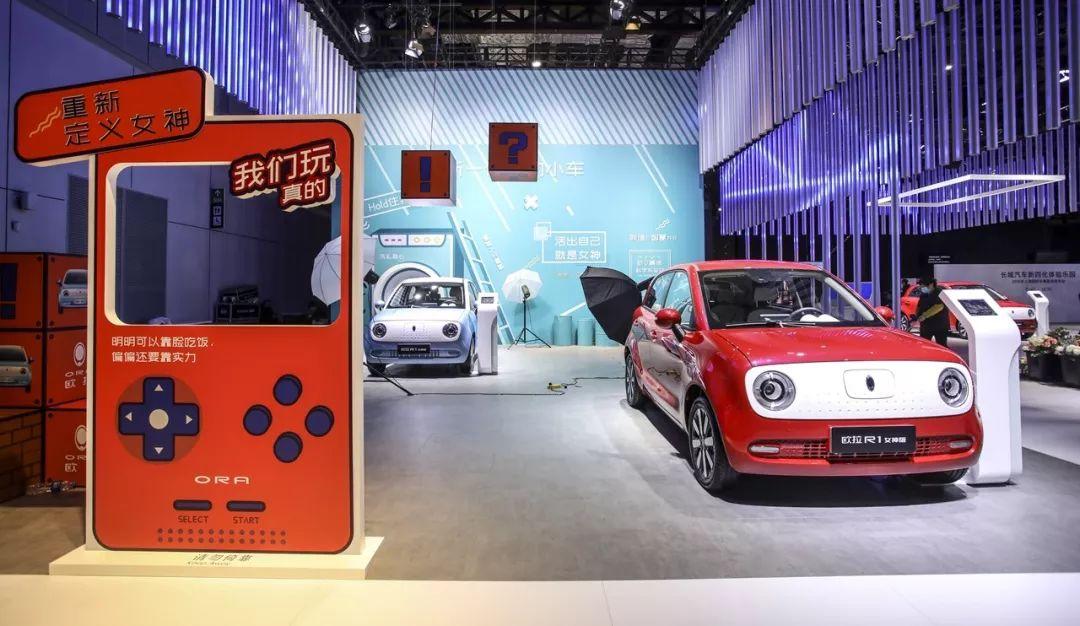 上海车展哪个展台最好玩,是谁把酒吧搬进了展馆?