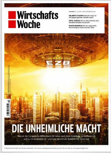 德国《经济周刊》6月1日一期封面