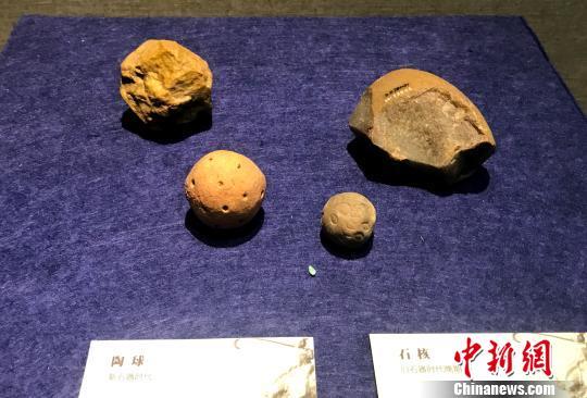 中华古代体育文物展扬州开展 150余件文物再现古代体育世界