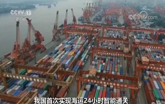 我国首次实现海运24小时智能通关 此举让粤港澳大湾区物流大大加速