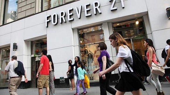 部分业主为Forever 21减租 美国60多家店铺得以保留