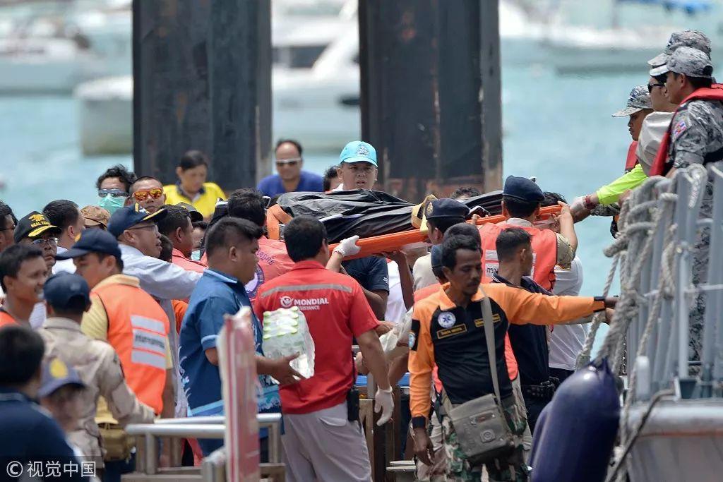 泰普吉岛翻船事故已致40人遇难,翻船画面曝光!