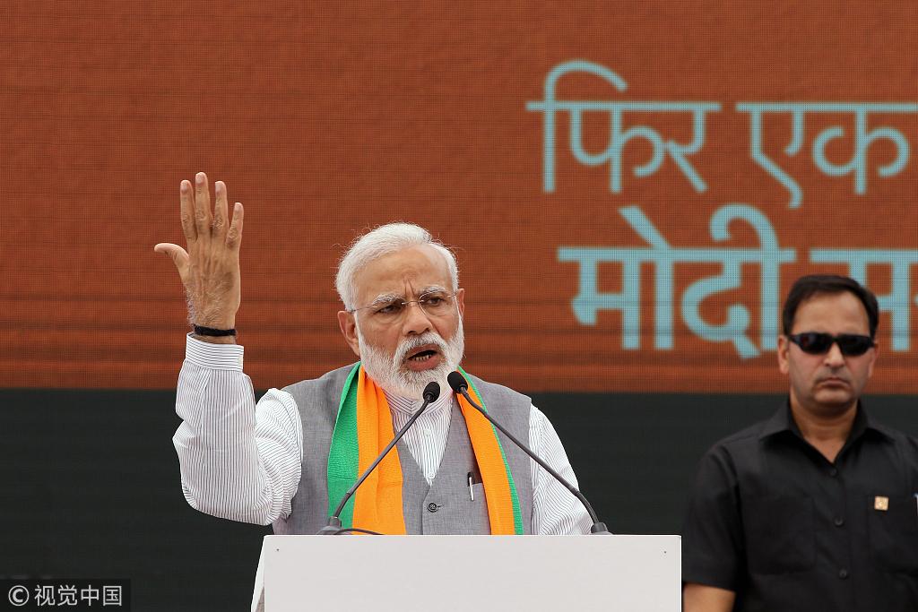 印度议会选举大选拉开帷幕,经济发展大业未成功,莫迪还能有5年机会吗