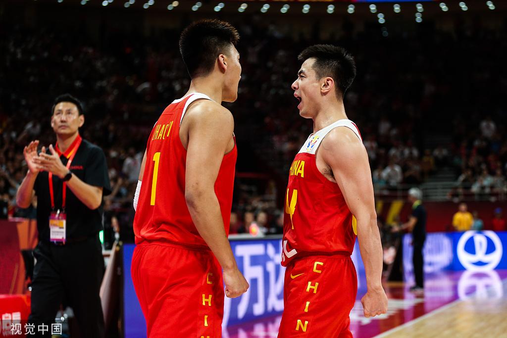 70:55!中国男篮世界杯开门红,终结9年世界大赛不胜