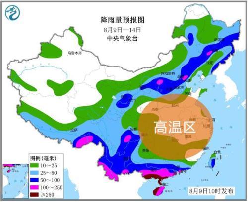 中东部高温雨水齐上阵 京津冀等地再迎暴雨天气