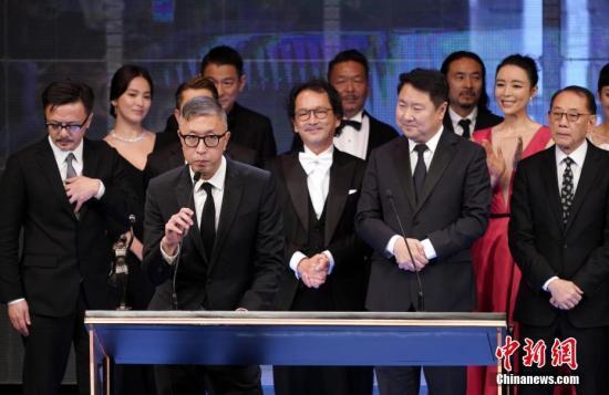 《无双》成第38届香港电影金像奖最大赢家 横扫7项大奖