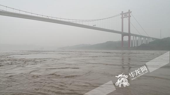 洪水蓝色预警:长江寸滩站今晚洪峰将接近警戒水位180.5米