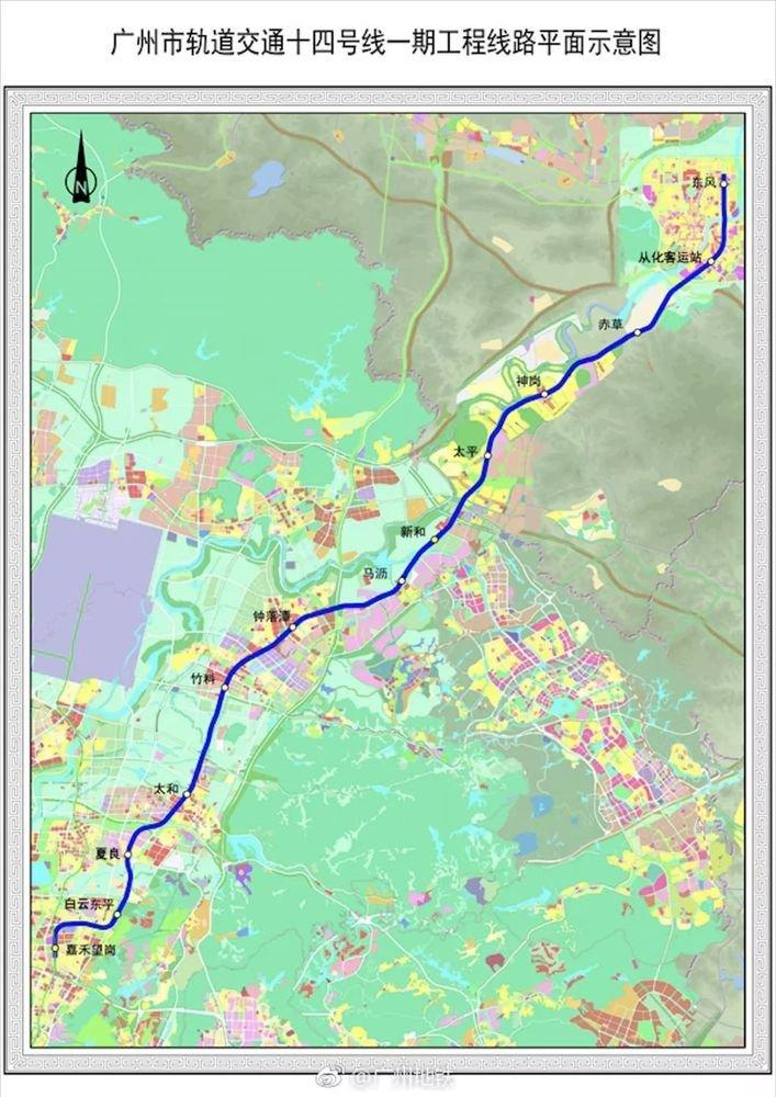 时速超160公里!南沙独立成网!广州新一轮地铁规划雏形流出?