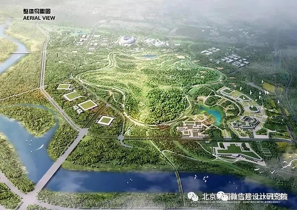 城市绿心设计方案来啦!750公顷大尺度绿地
