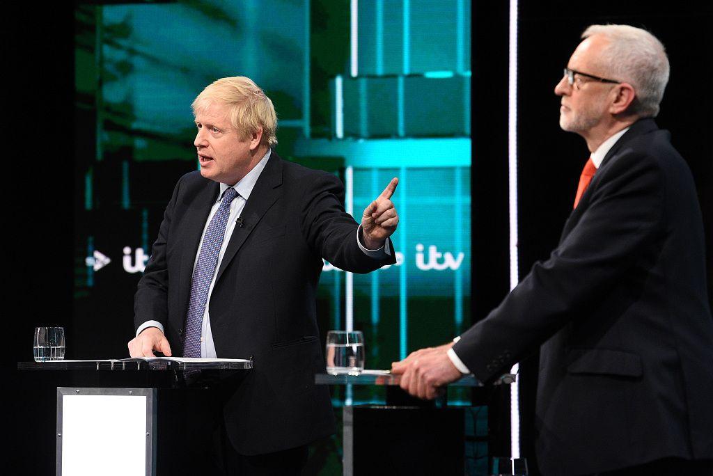 英国大选首场电视辩论:约翰逊和科尔宾激辩,难分胜负