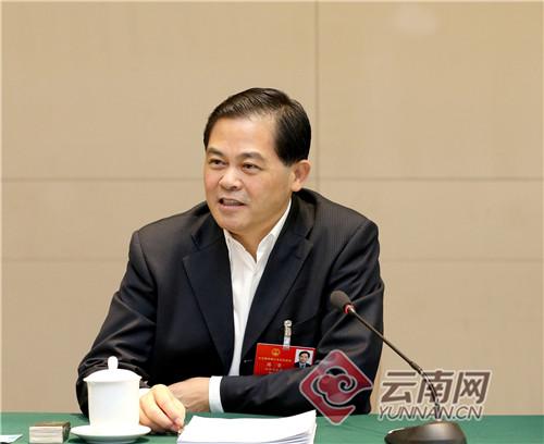 陈豪在作云南省代表团总结时强调:坚定信心 凝聚力量 团结奋斗 奋力实现全年各项工作目标任务