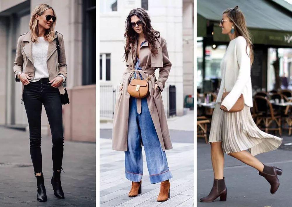 人人都能驾驭的踝靴,时髦百搭,还显腿长!