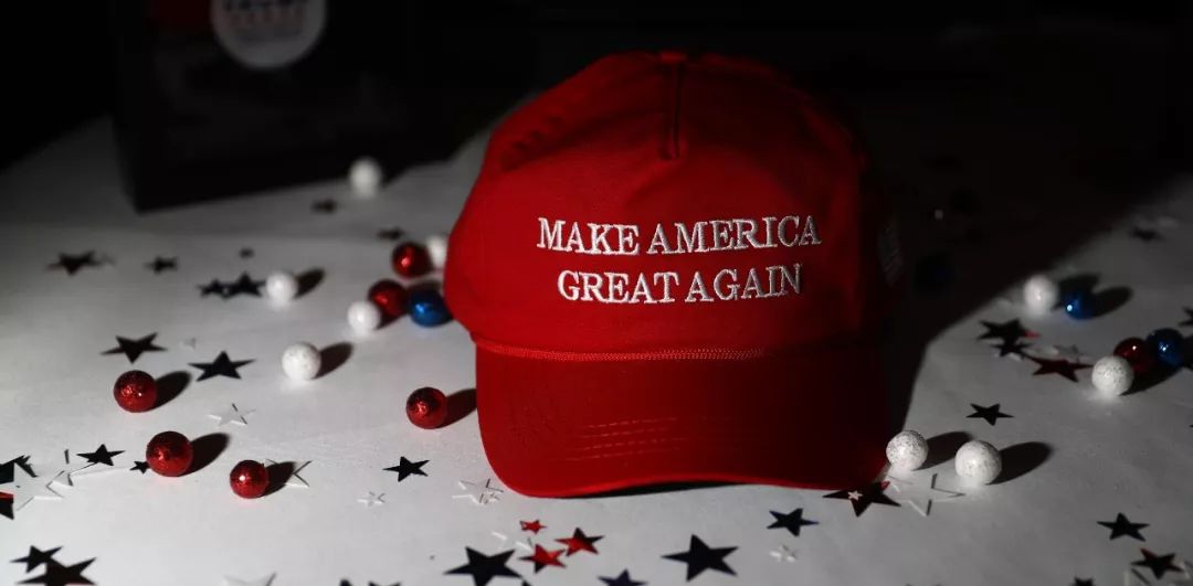 """▲""""让美国再次伟大""""。(彭博新闻社)"""