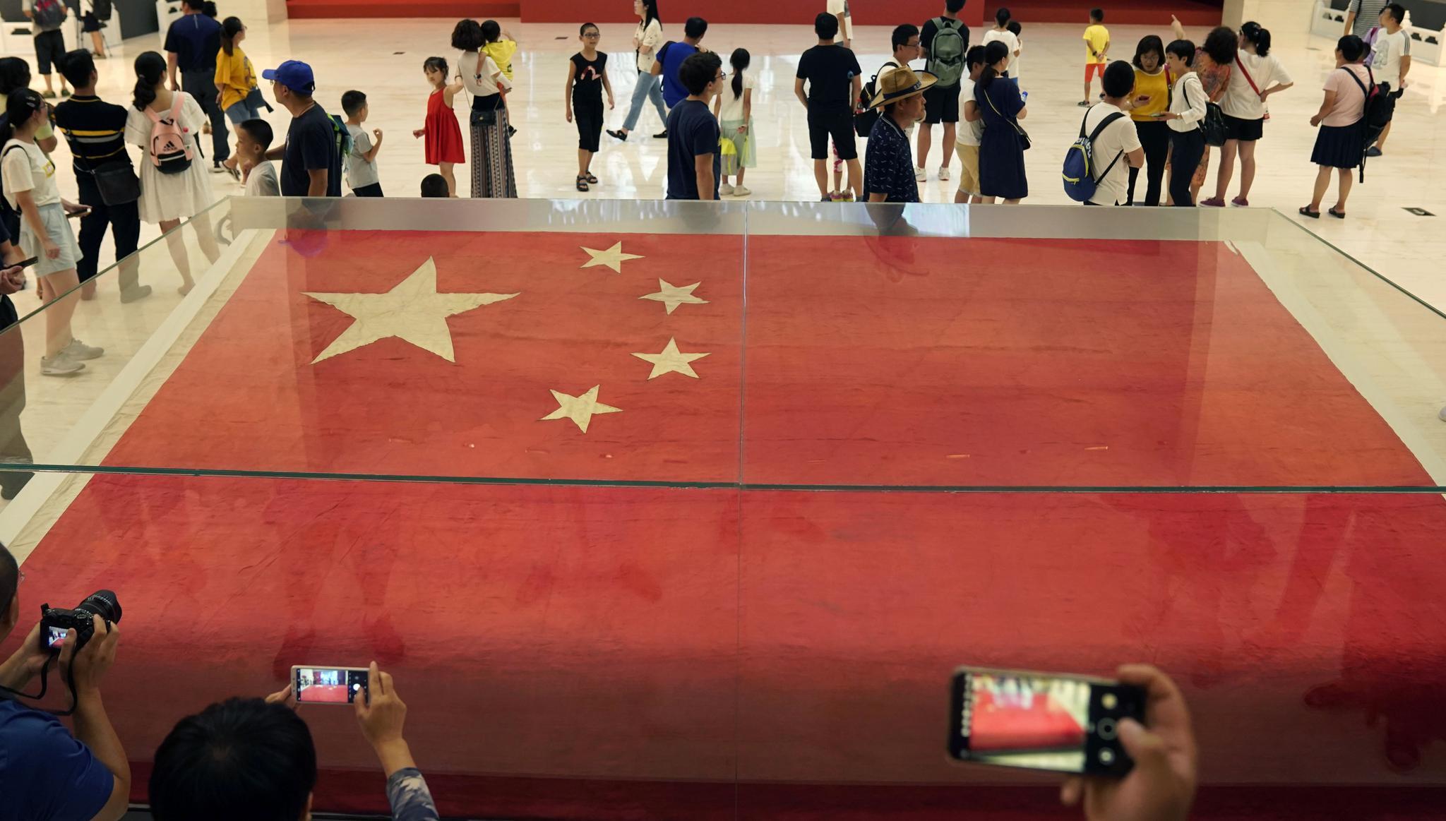 新中国成立70周年系列展览:回望初心 照见未来