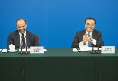 看到法国总理在北京笑容灿烂,澳大利亚急了