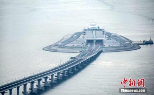 资料图:港珠澳大桥。中新社记者 麦尚旻 摄