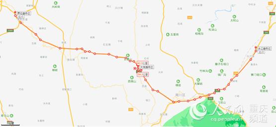 20日起渝湘高速大观服务区封闭施工10个月